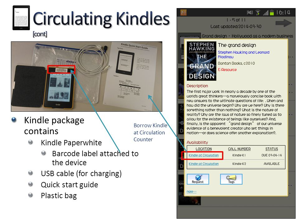 Circulating Kindles [cont]